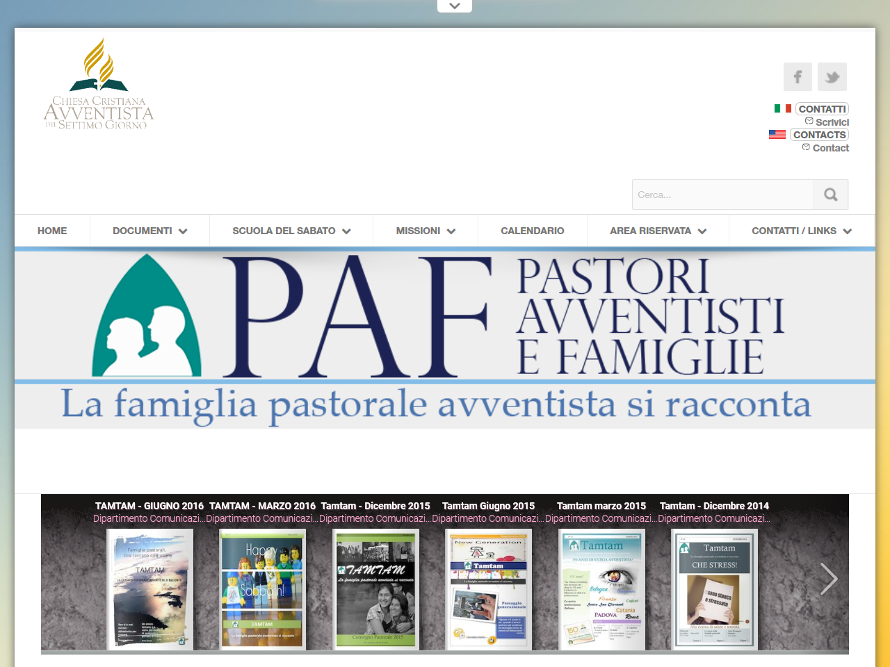 PAF Pastori Avventisti E Famiglie